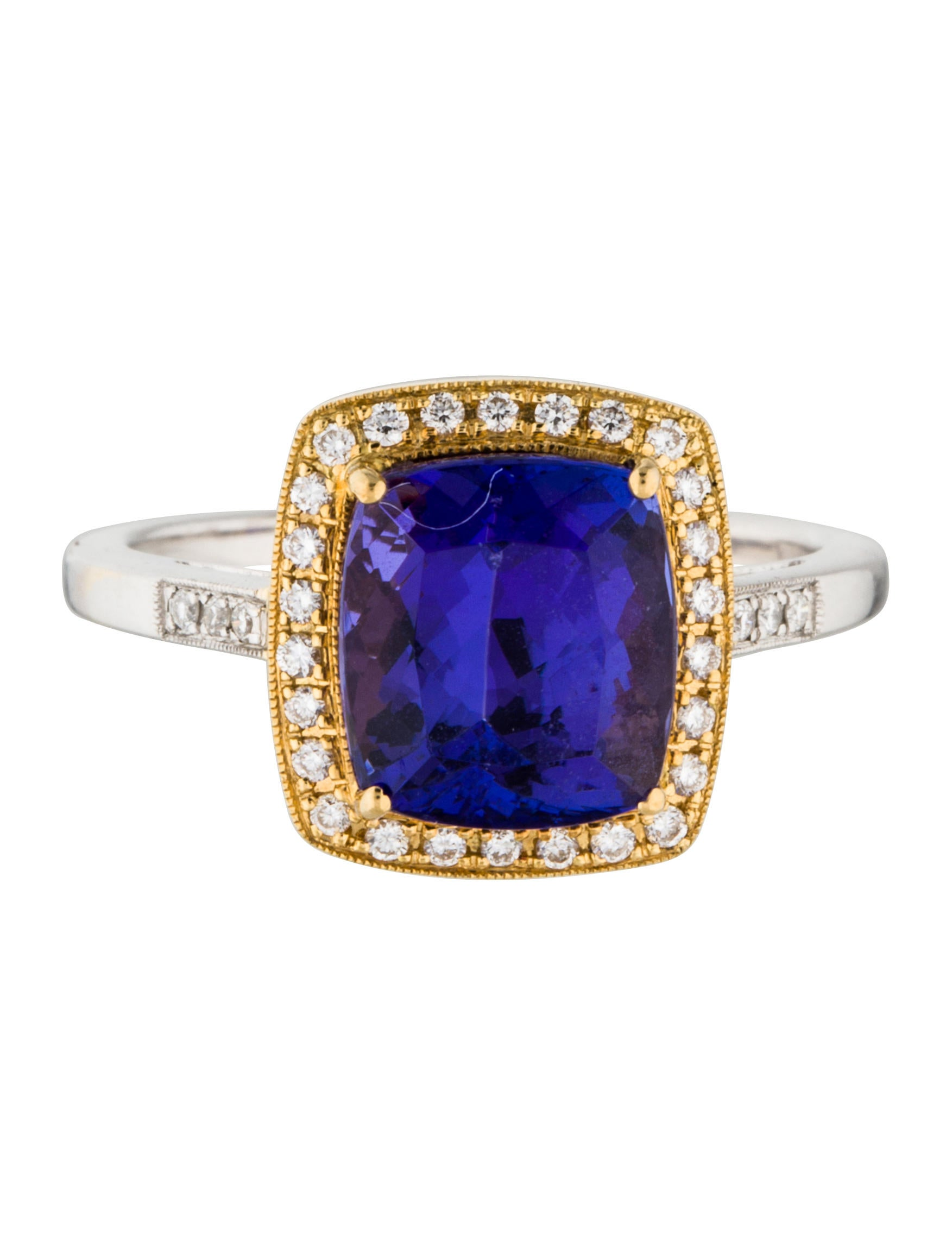 Tanzanite And Diamond Rings Price