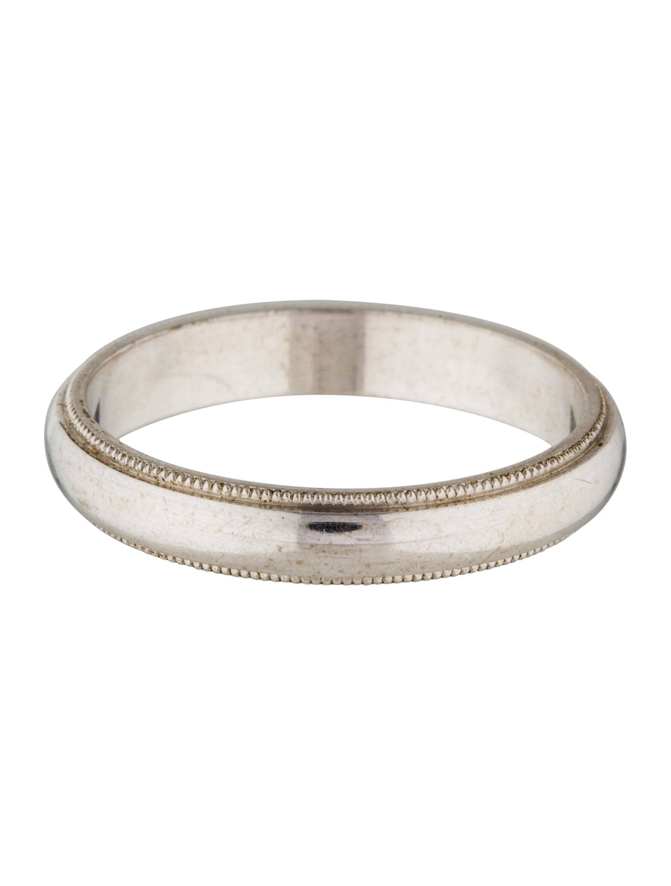 14k milgrain wedding band rings rring35828 the realreal