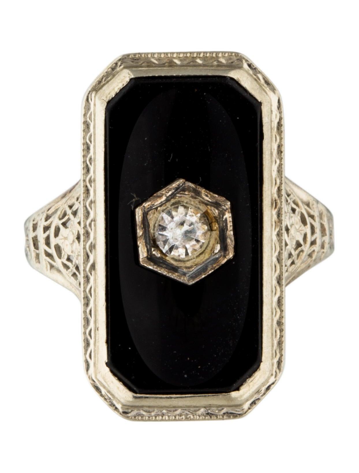 Art Deco Style Diamond Rings
