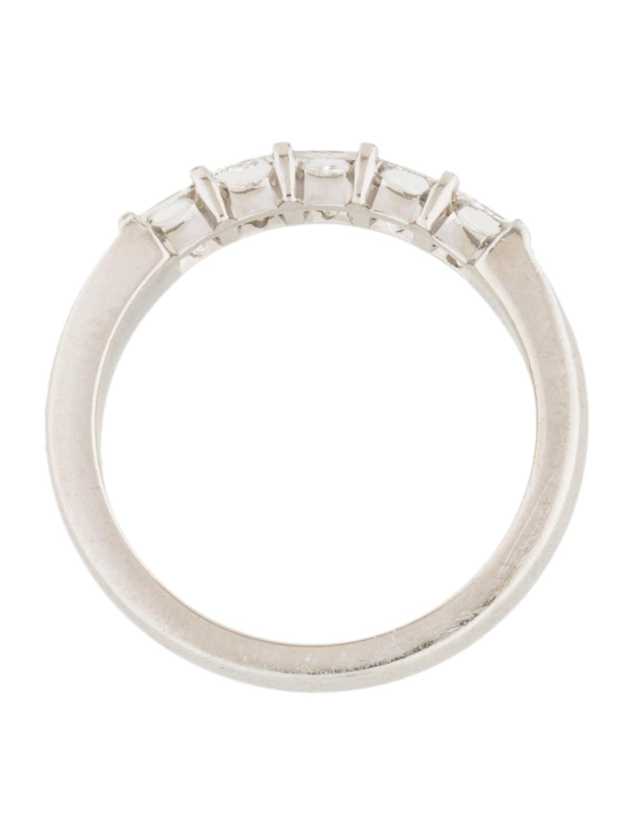 platinum five band rings rring37569