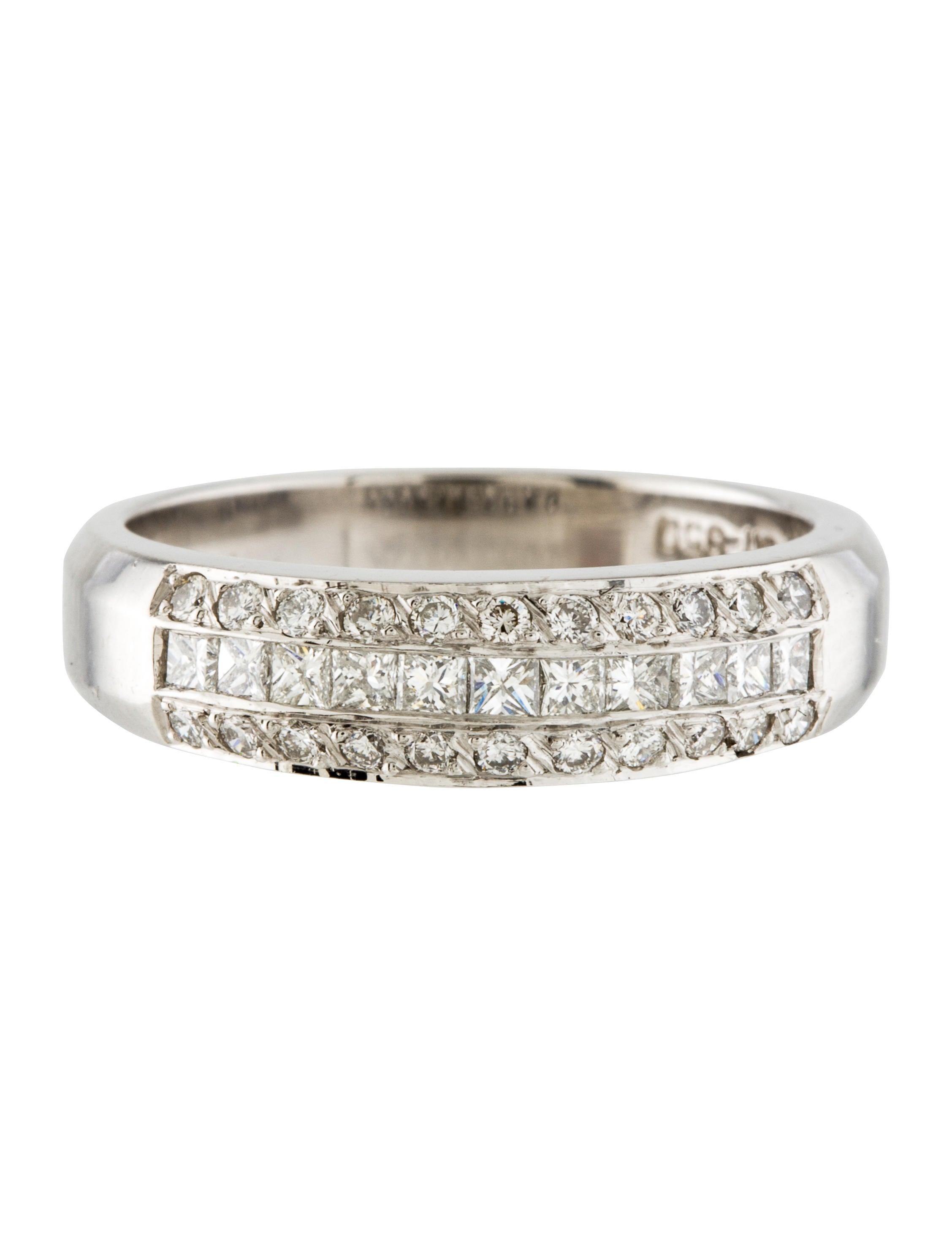 platinum band ring rings rring38230 the realreal