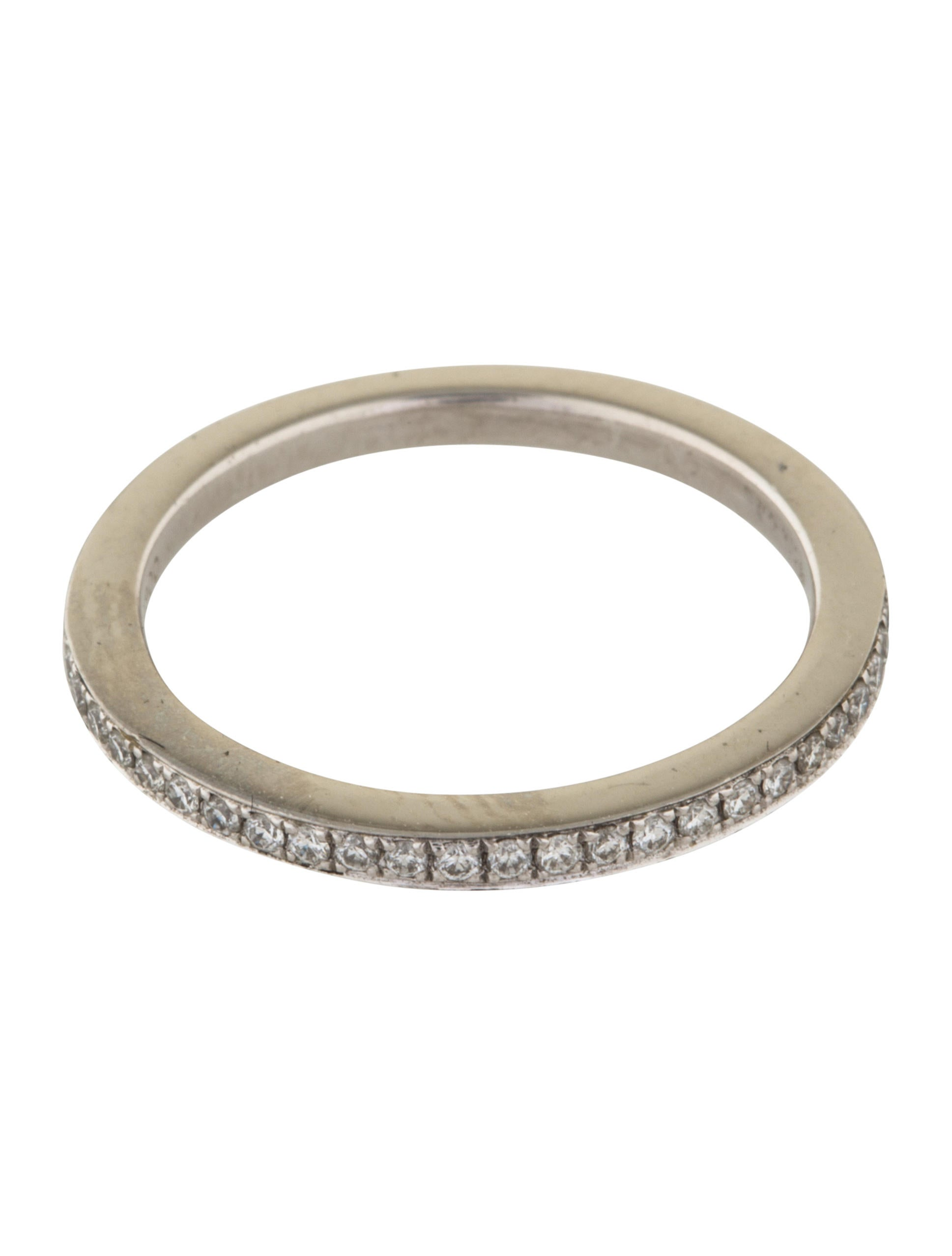 platinum half eternity band rings rring38410