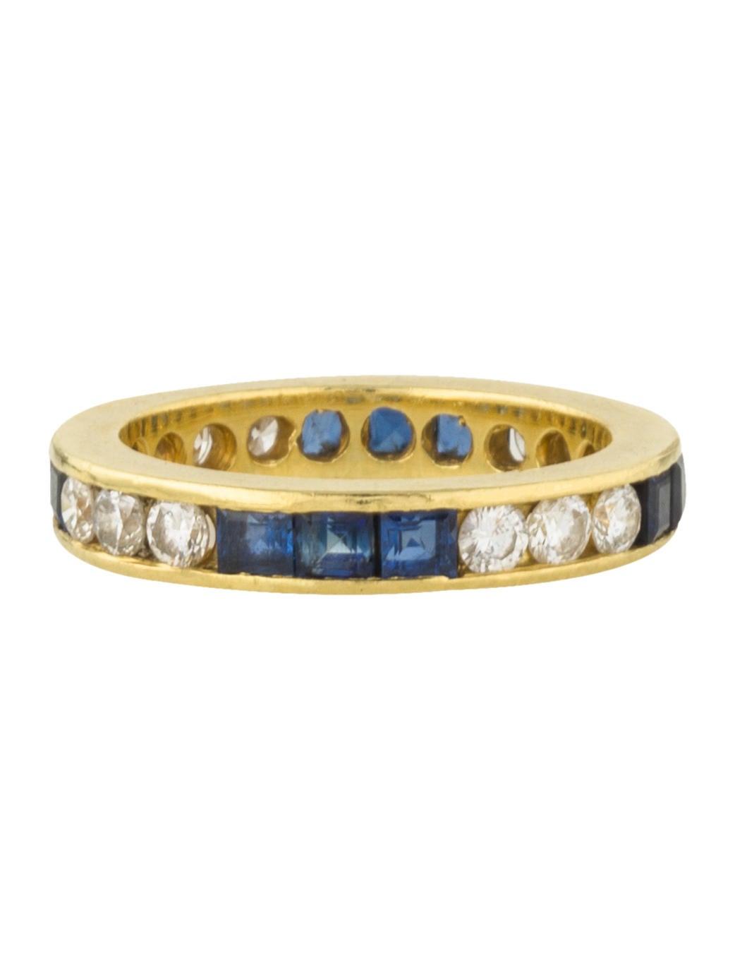 18k sapphire eternity band rings rring39241