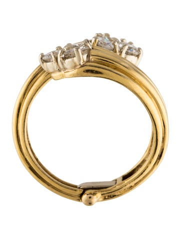 18k hinged bypass ring rings rring40370 the
