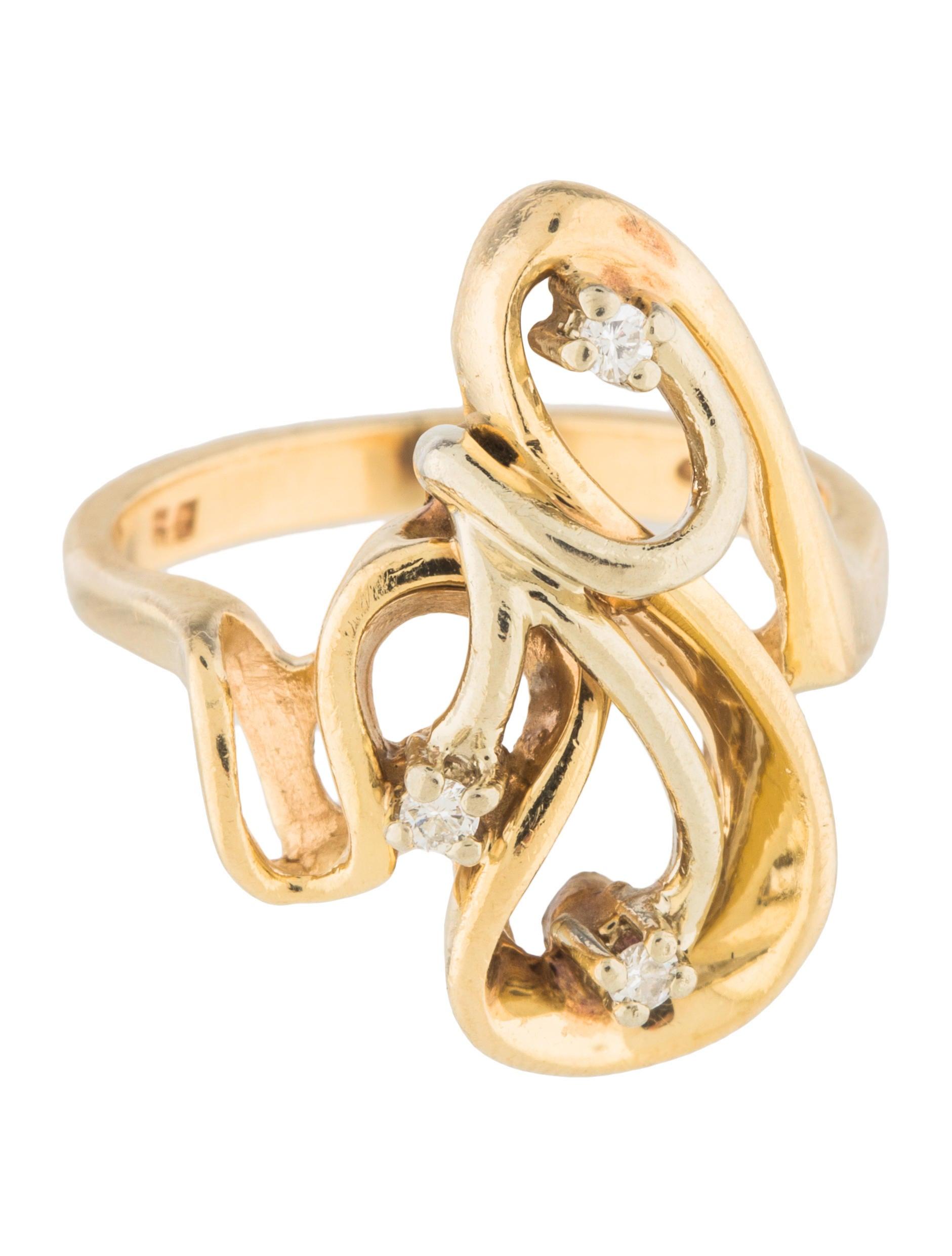 Carat Diamond Cocktail Ring