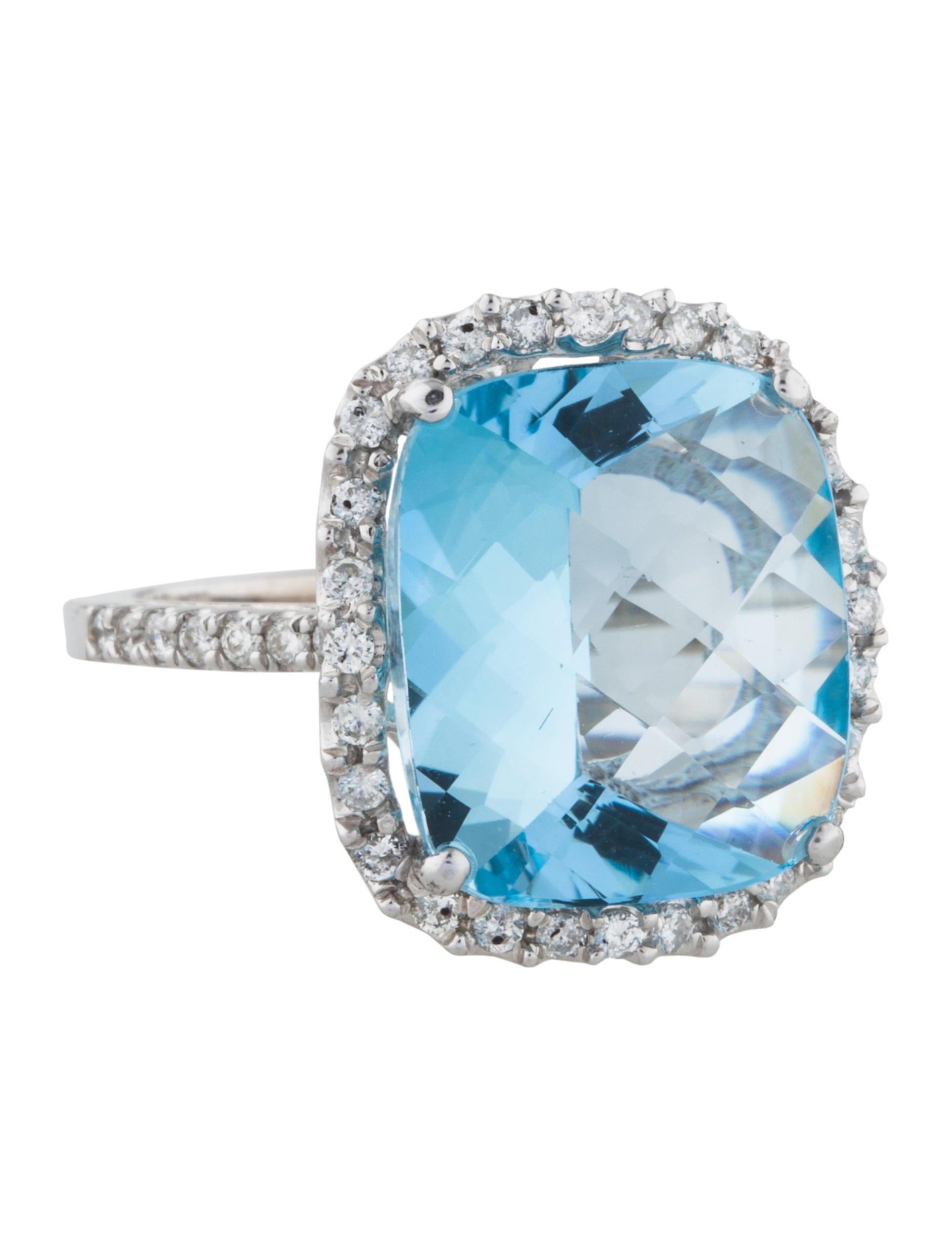14k topaz ring rings rring40973 the realreal
