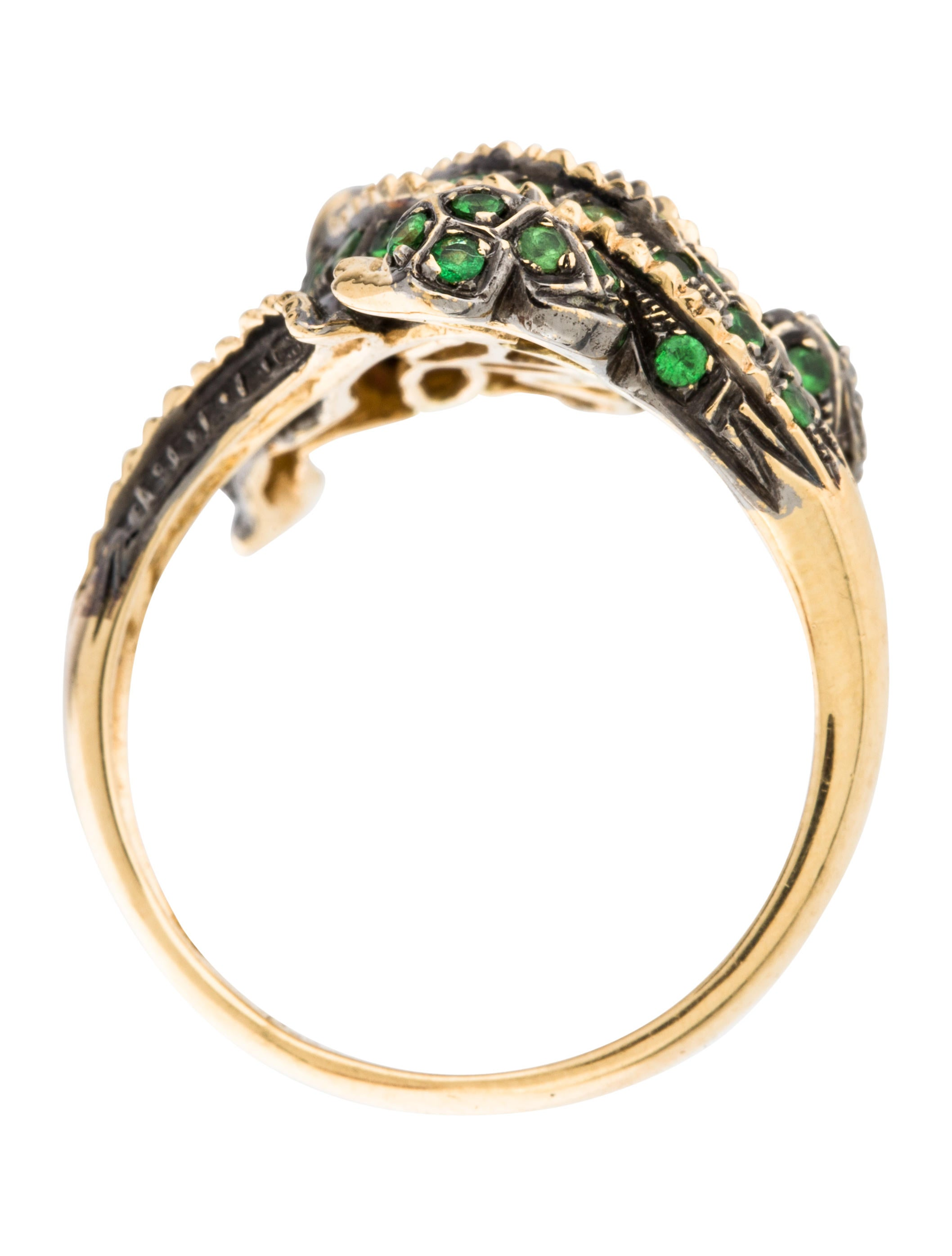 add gems to cart graziela category product engagement r stackable rings tsavorite jewelry