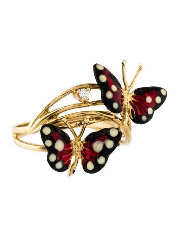 Robert Lee Morris Butterfly Ring
