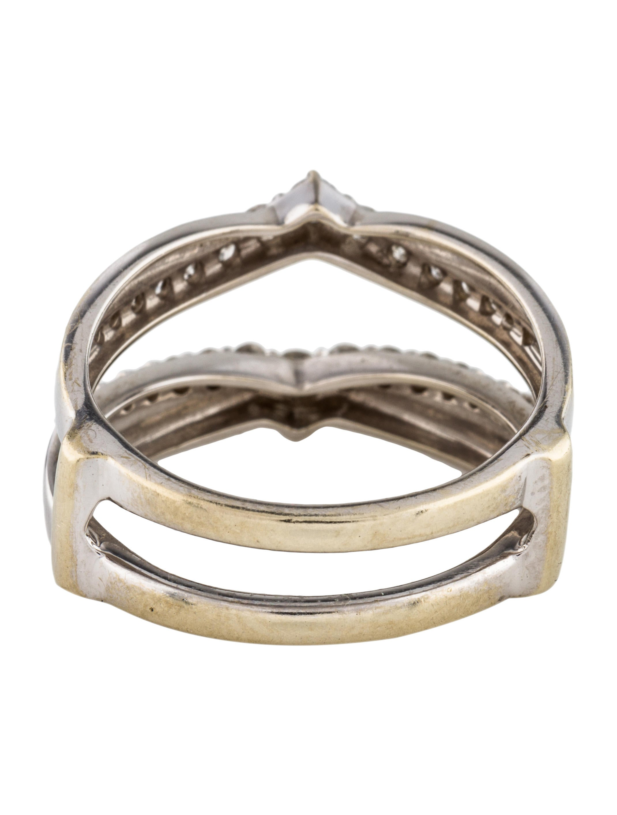 elegant guard of lovely idea wedding enhancer ring rings