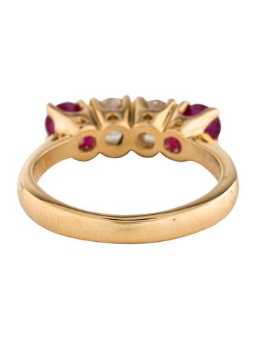 14K Ruby & Diamond