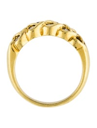 18K Sapphire & Diamond Ring image 5