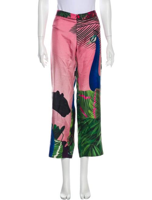 F.r.s. For Restless Sleepers Silk Printed Pajamas