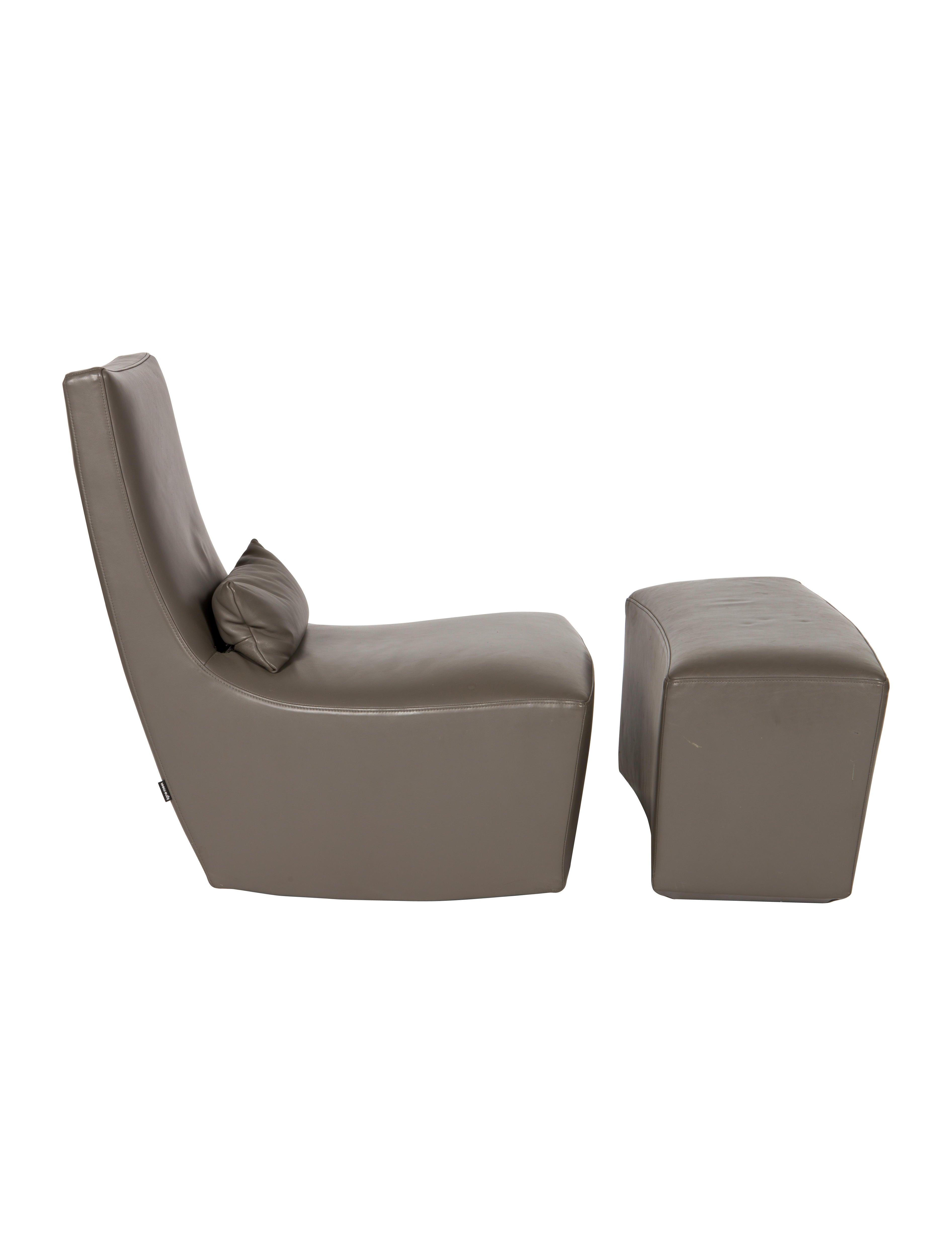 ligne roset fireside neo rocker & ottoman - furniture - rst20006, Wohnzimmer dekoo