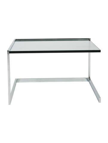 Ligne roset pair of glass side tables furniture - Ligne roset side table ...