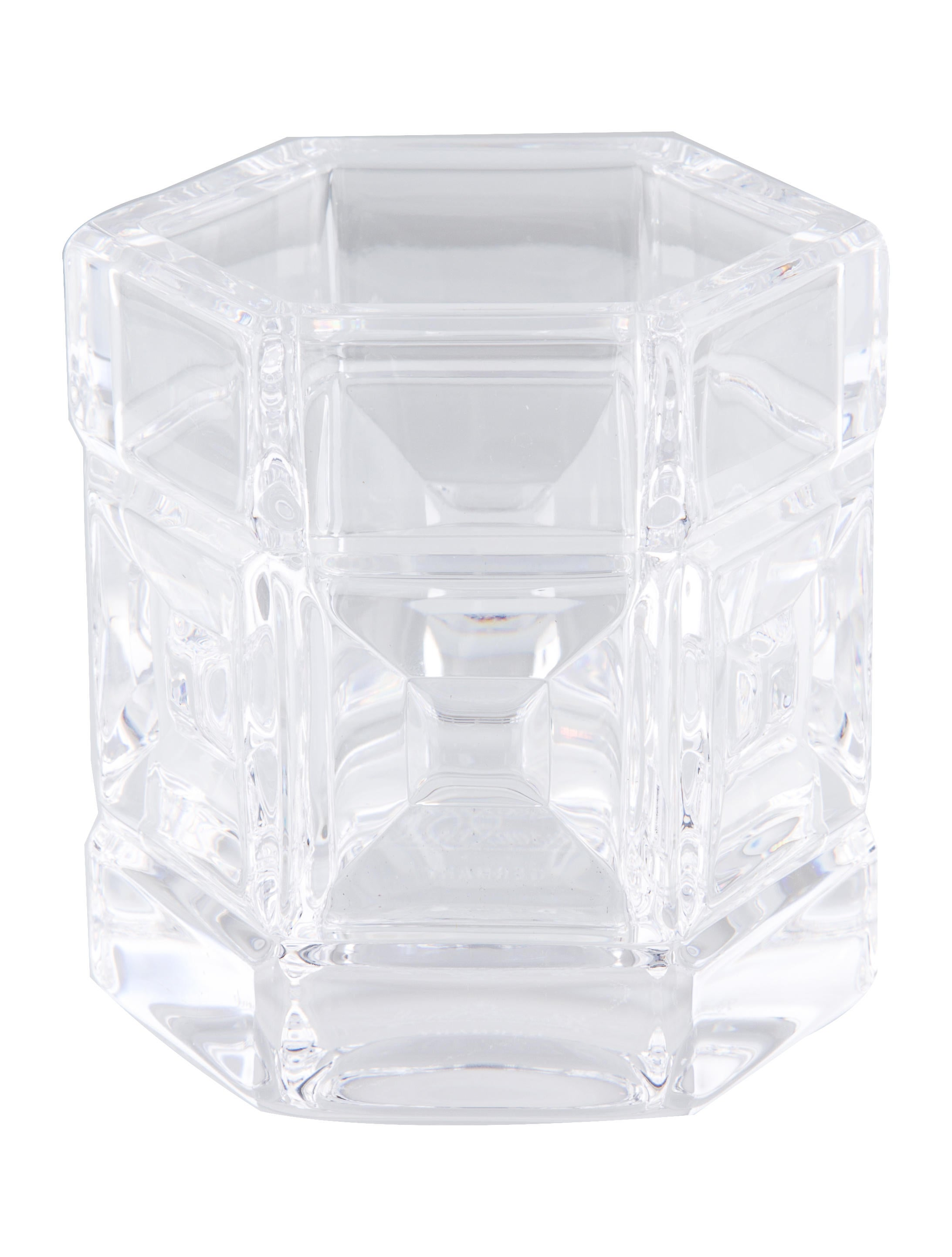 Rosenthal domus crystal votives decor and accessories Crystal home decor