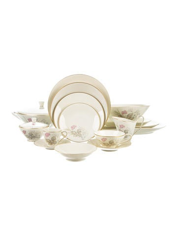 Rosenthal 132-Piece Parisian Spring Table Service None