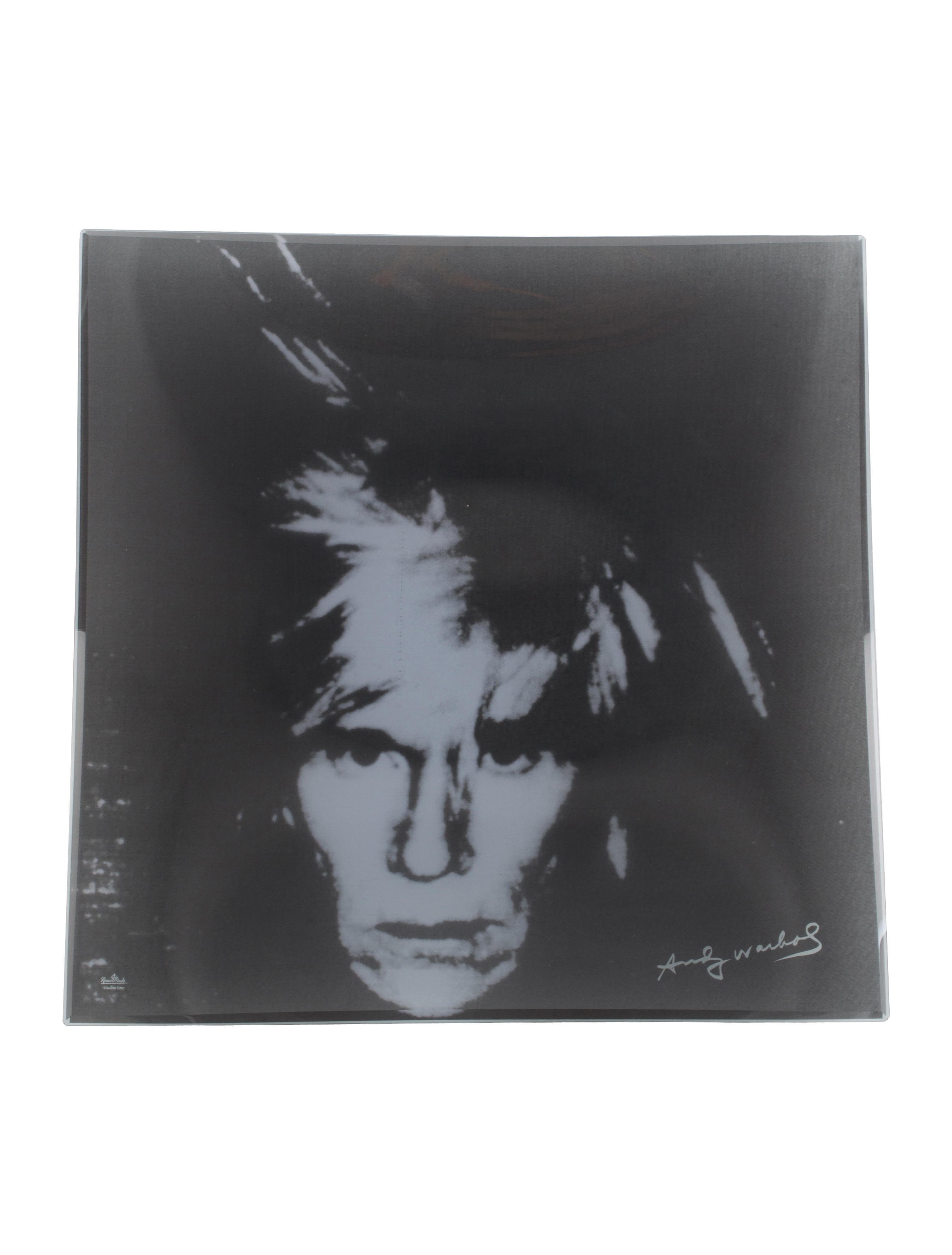 rosenthal andy warhol portrait plate decor and accessories rth20674 the realreal. Black Bedroom Furniture Sets. Home Design Ideas