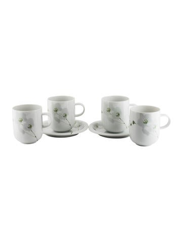 Rosenthal 6-Piece Suomi Rangoon Cup & Saucer Set None