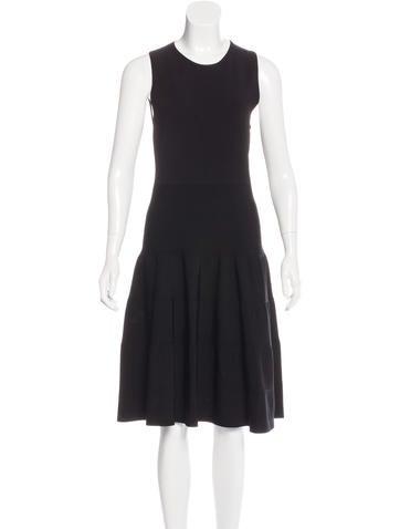 Rosetta Getty Sleeveless Midi Dress None