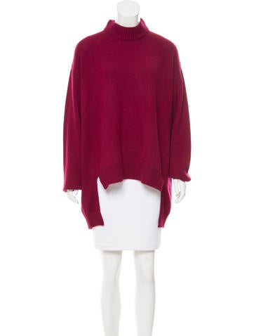 Rosetta Getty Mock Neck Wool-Blend Sweater w/ Tags None