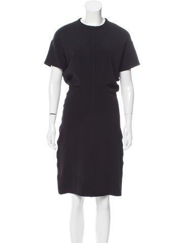 Rosetta Getty Ribbed Midi Dress w/ Tags None