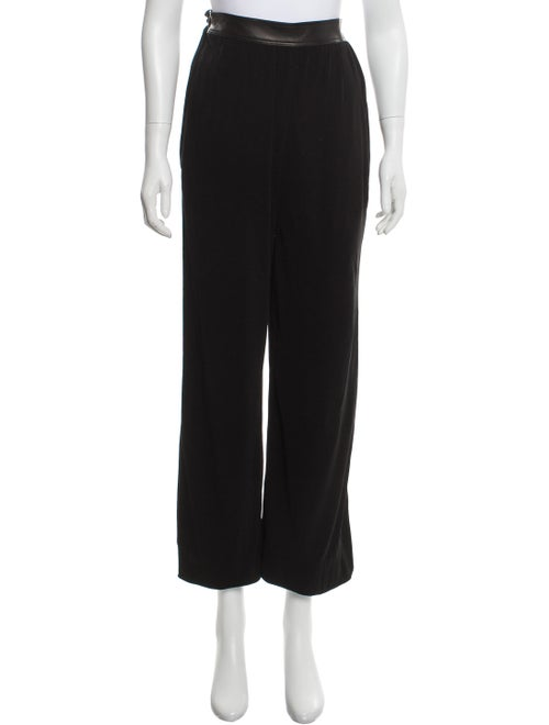 Rosetta Getty Harem High-Rise Pants Black