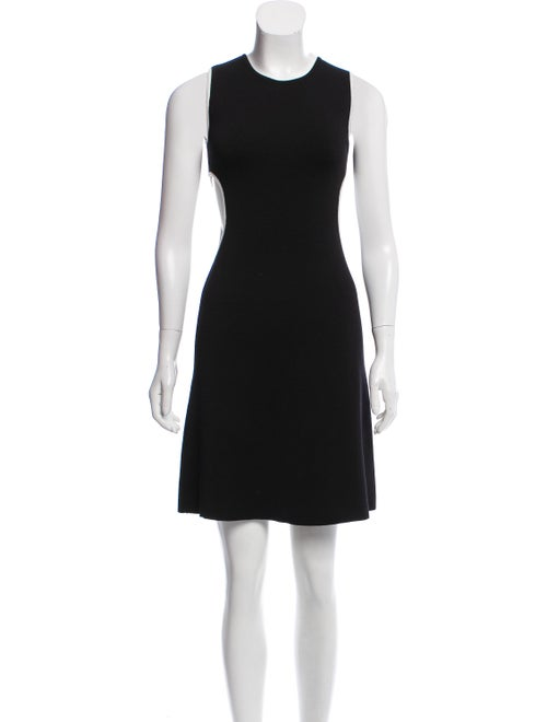 Rudi Gernreich Sleeveless Mini Dress Black