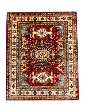 Silk Kazak Rug