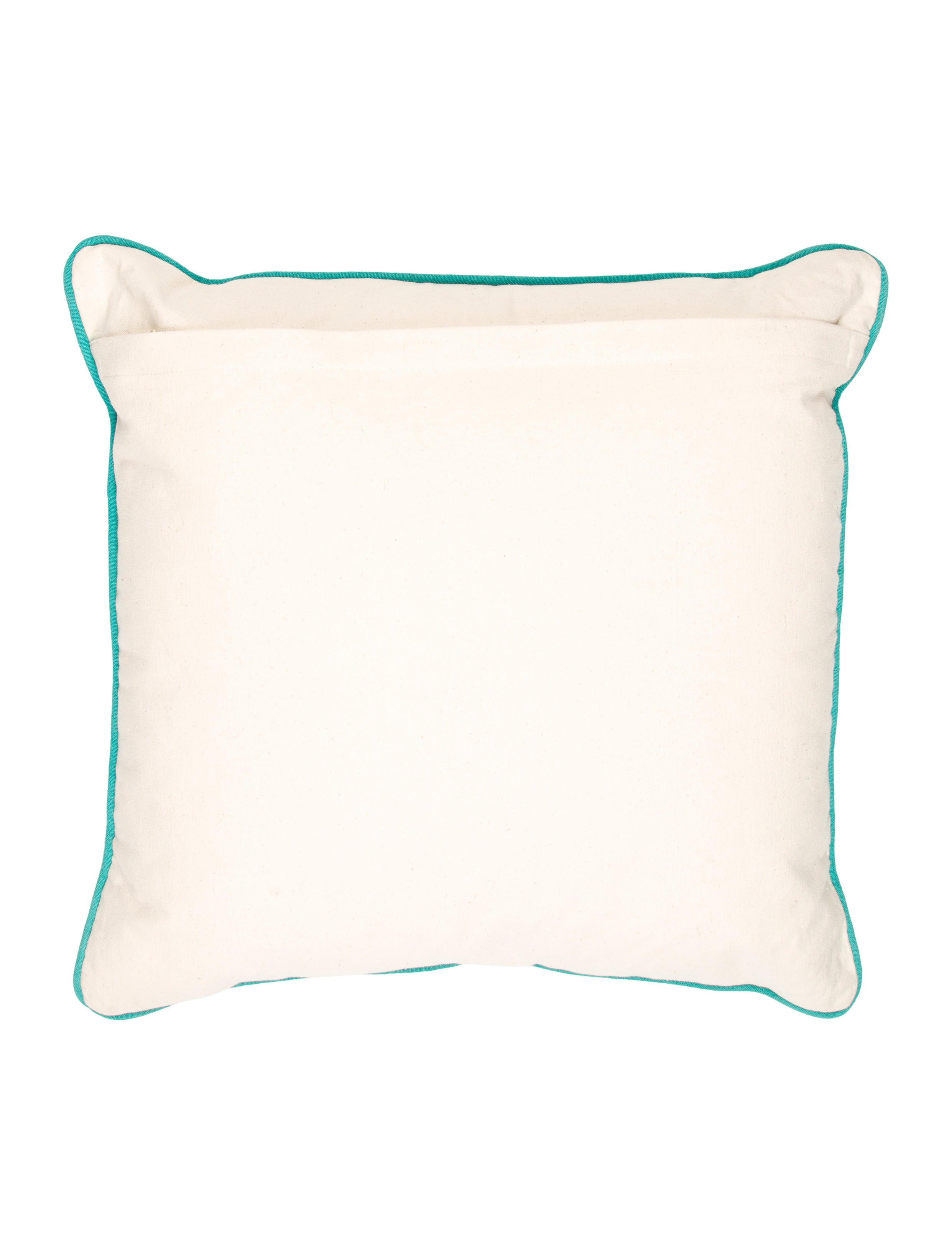 Throw Pillows With Letters On Them : The Rug Company Alphabet Throw Pillow - Pillows And Throws - RUGCO20004 The RealReal