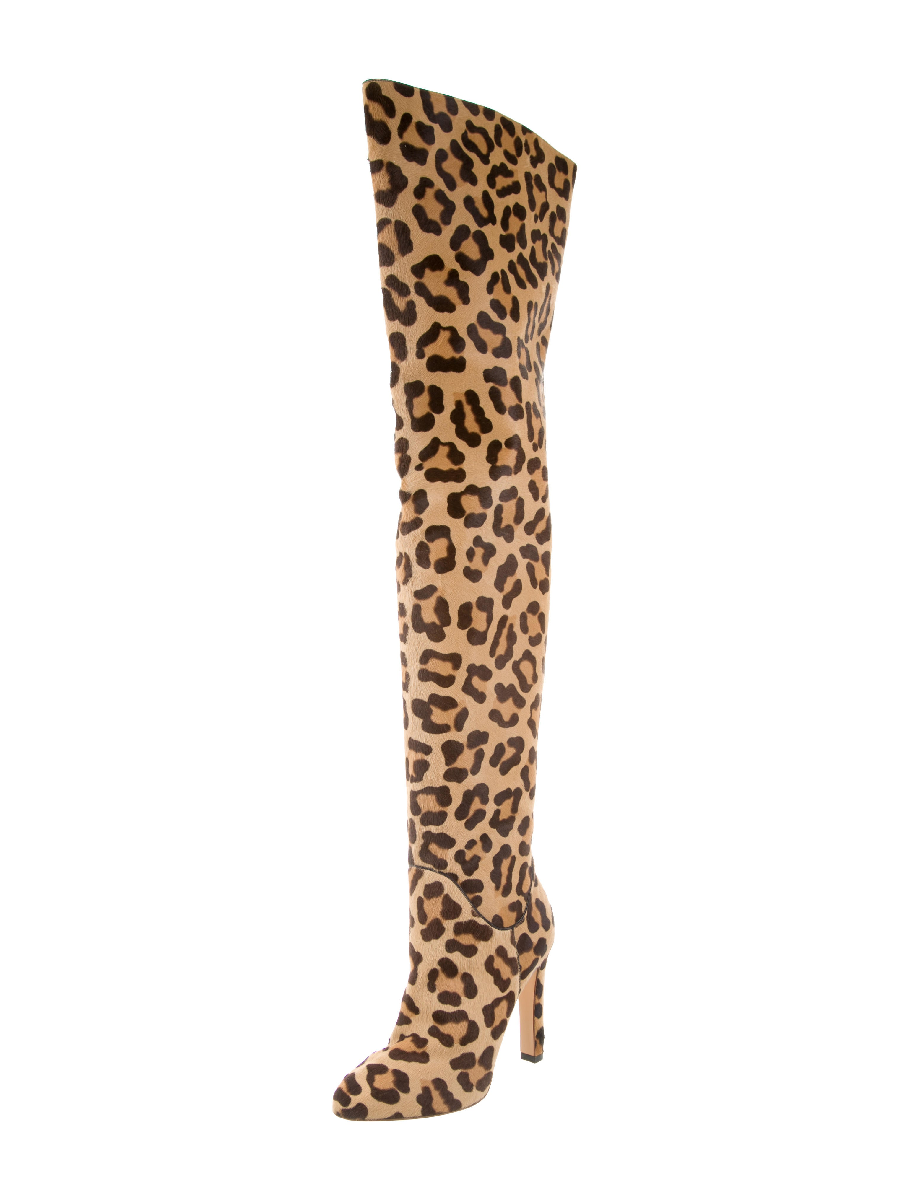 Francesco Russo Ponyhair Over-The-Knee Boots w/ Tags free shipping for sale nKHwSK