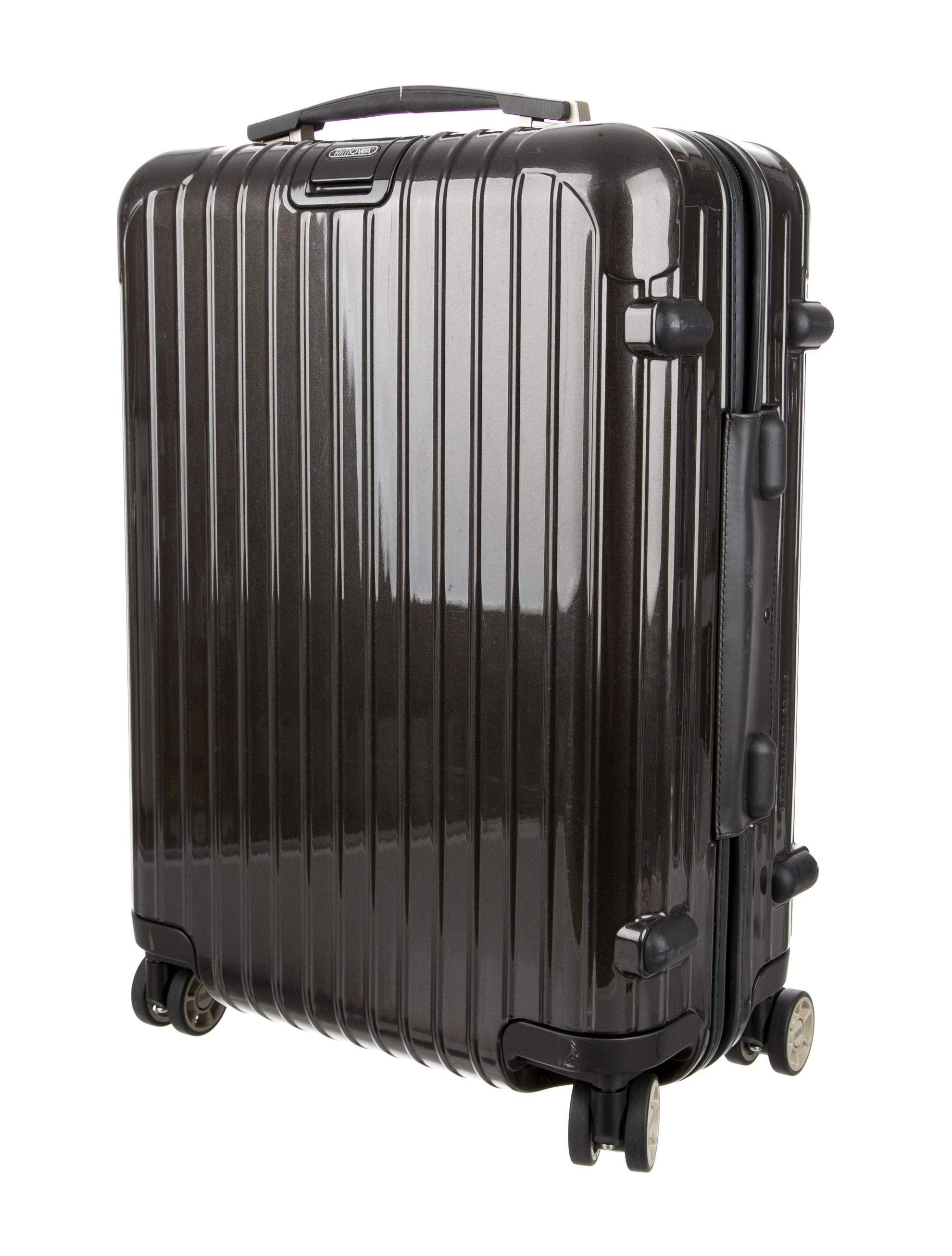 rimowa salsa deluxe cabin multiwheel suitcase luggage rwa20068 the realreal. Black Bedroom Furniture Sets. Home Design Ideas