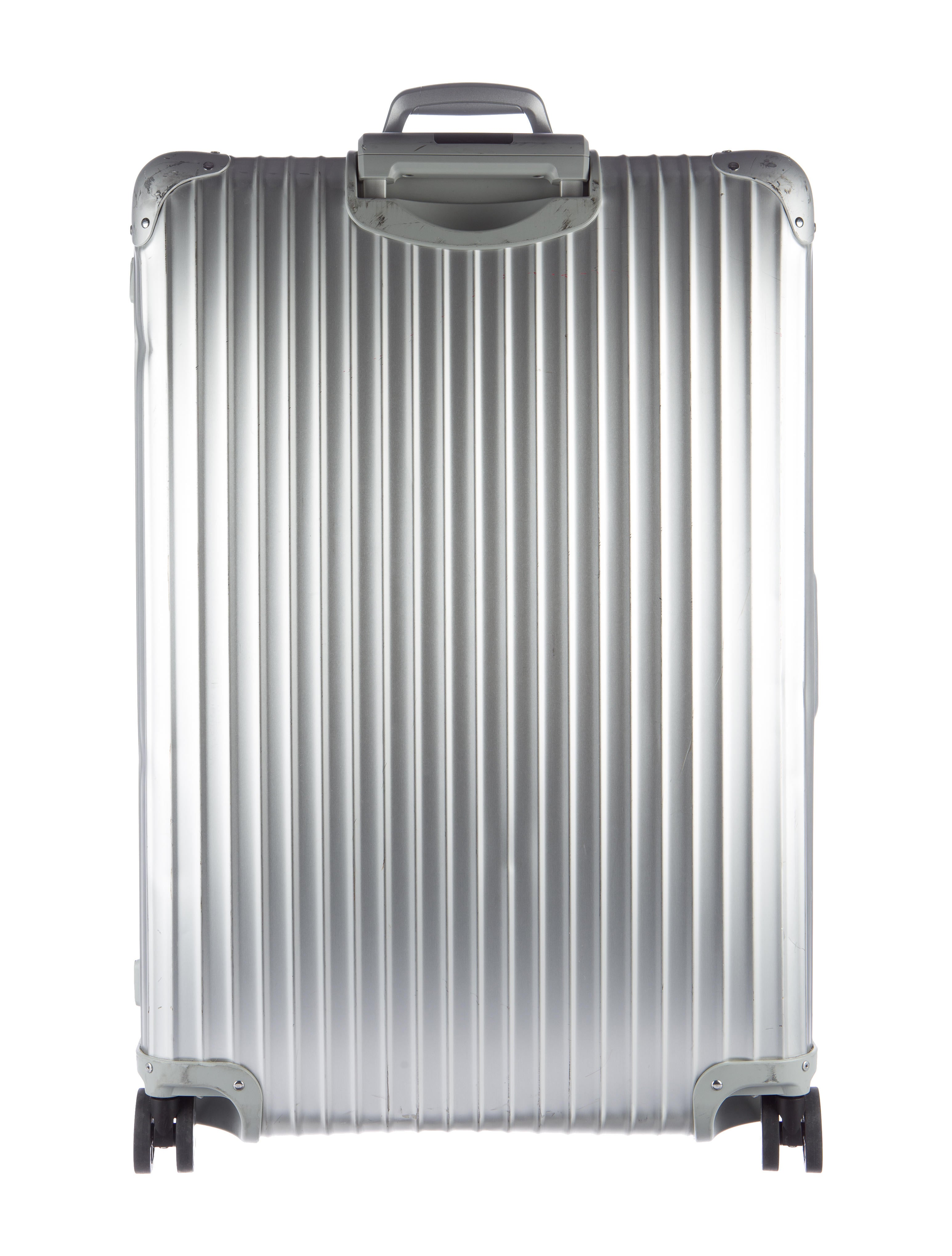 rimowa topas aluminum 30 multiwheel cabin luggage rwa20072 the realreal. Black Bedroom Furniture Sets. Home Design Ideas