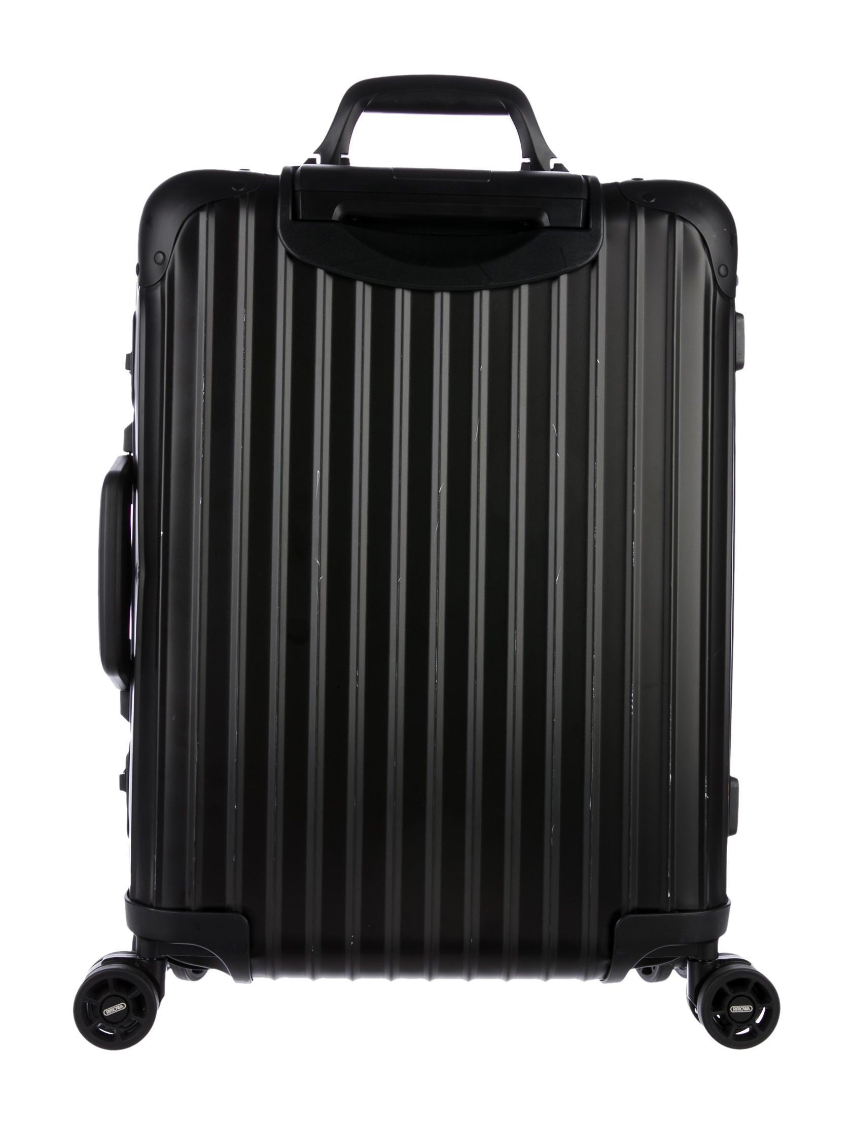 rimowa salsa cabin multiwheel 32 0l luggage rwa20131 the realreal. Black Bedroom Furniture Sets. Home Design Ideas