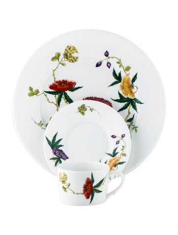 Raynaud Three Piece Mioraflor Place Setting None