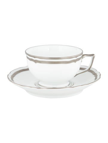 Raynaud Marie-Antoinette Platinum Cup & Saucer None