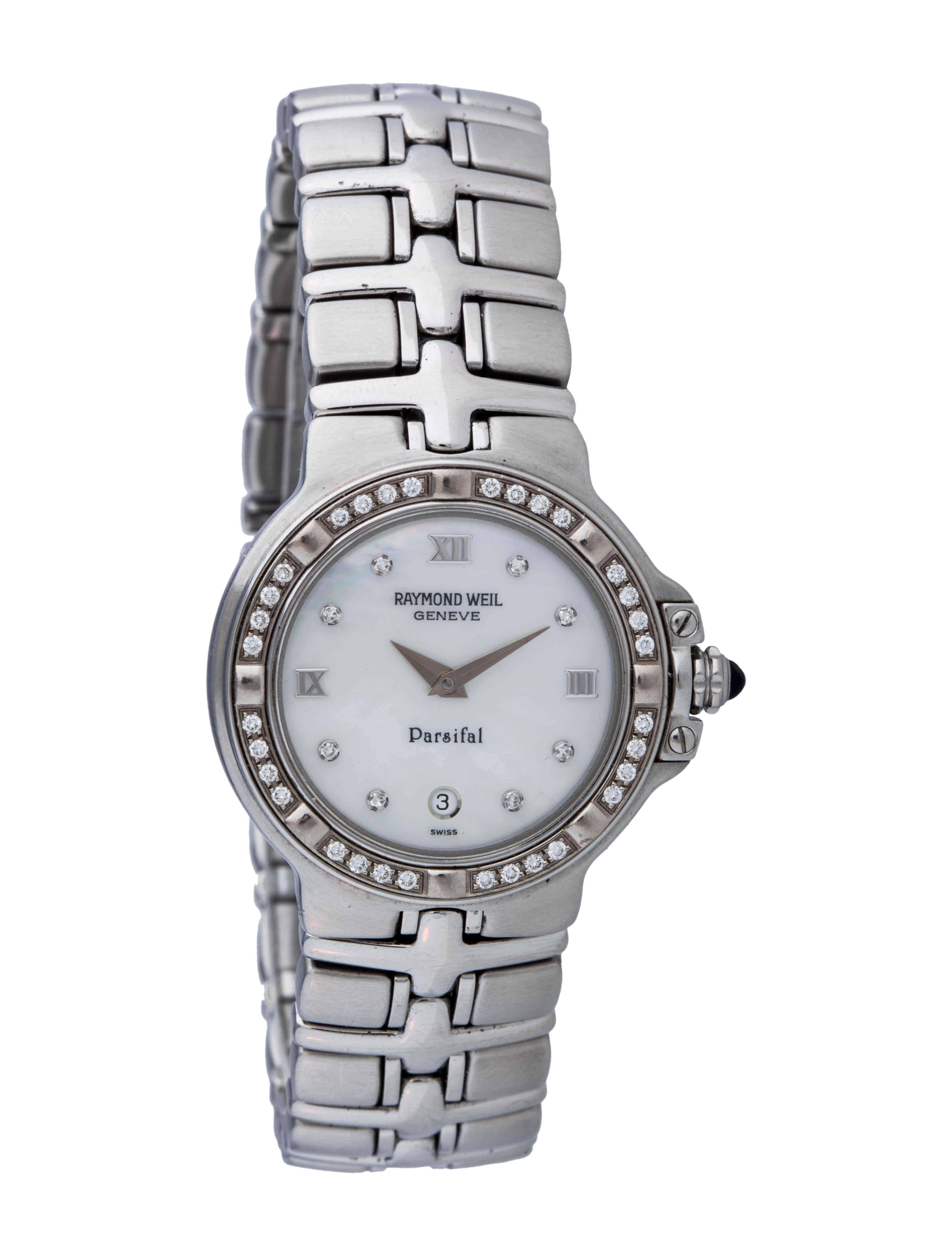 Raymond weil parsifal watch bracelet ryw20356 the realreal for Raymond watches
