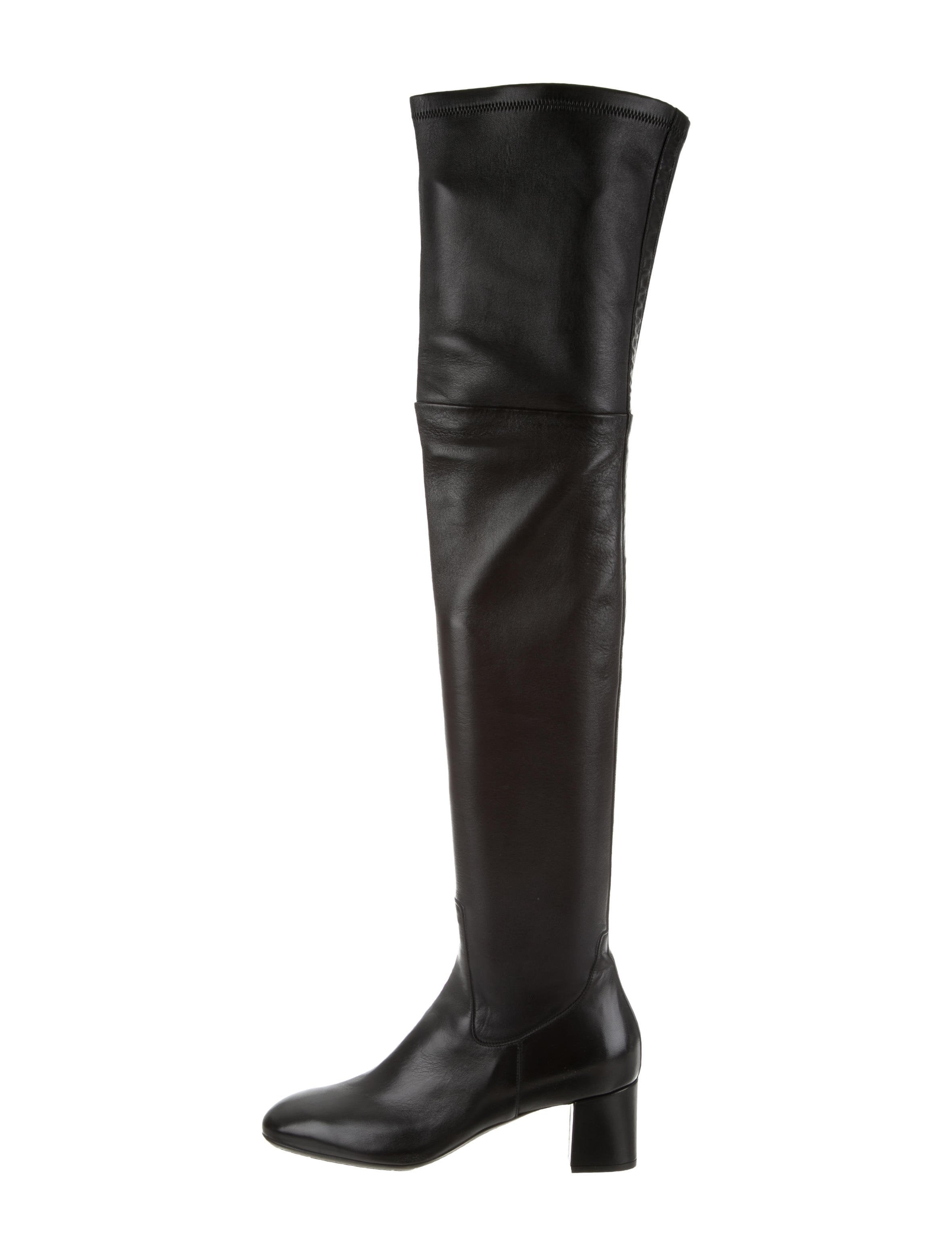 Santoni Leather Over-The-Knee Boots w/ Tags outlet order online outlet cheap price clearance order clearance Cheapest buy cheap get authentic 5HioVcg