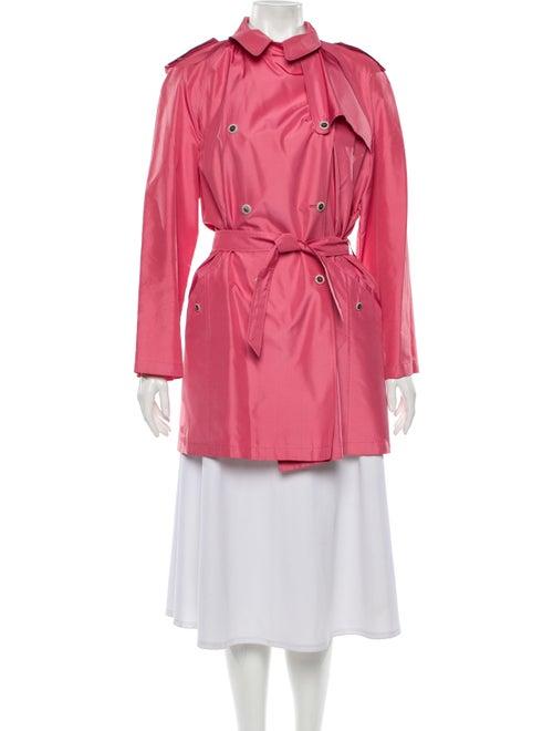 Salvatore Ferragamo Trench Coat Pink