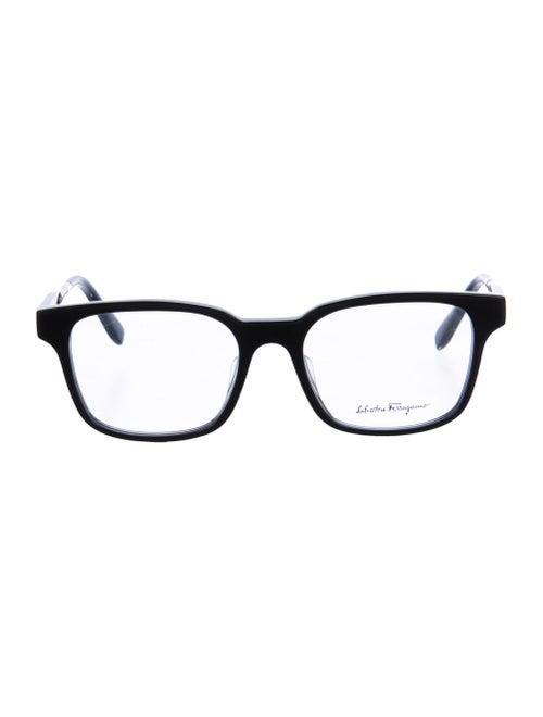 Salvatore Ferragamo Acetate Eyeglasses black