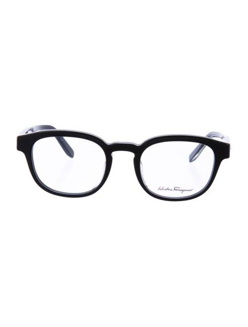 Salvatore Ferragamo Gancini Eyeglasses black