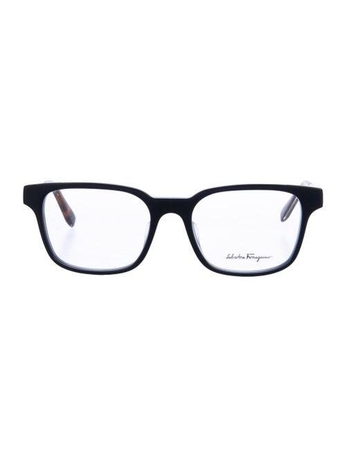 Salvatore Ferragamo Acetate Eyeglasses blue