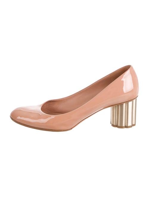 Salvatore Ferragamo Patent Leather Pumps Pink