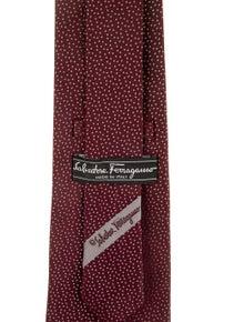 Salvatore Ferragamo Patterned Silk Tie