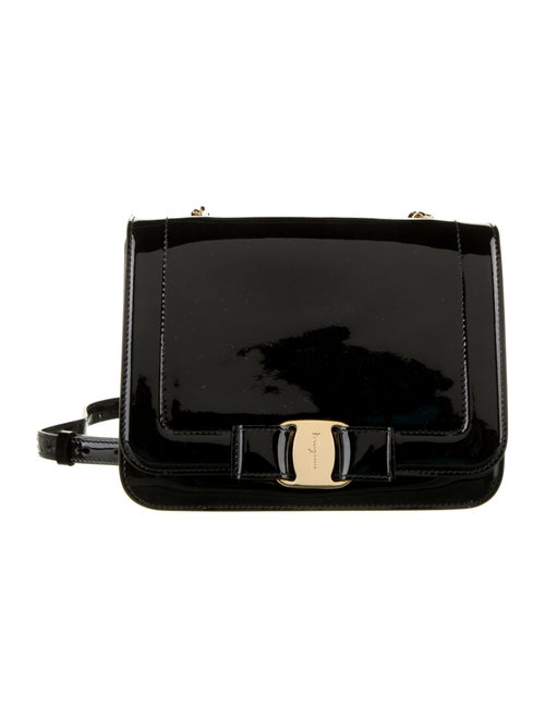 Salvatore Ferragamo Vara Crossbody Bag Black