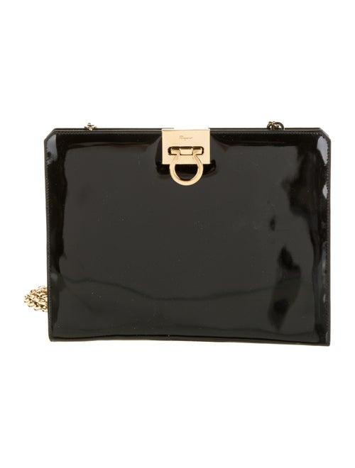 Salvatore Ferragamo Patent Leather Crossbody Bag B