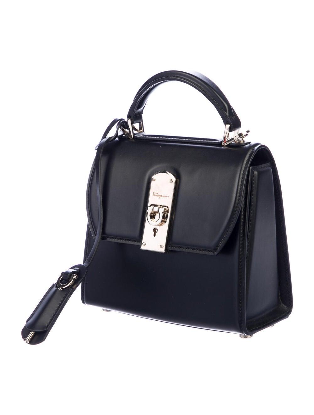Salvatore Ferragamo Leather Boxyz Bag Black - image 3
