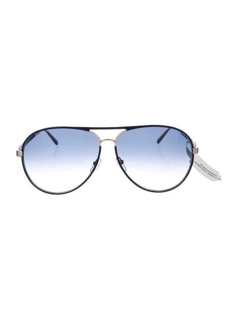 Salvatore Ferragamo Aviator Gradient Sunglasses B… - image 1
