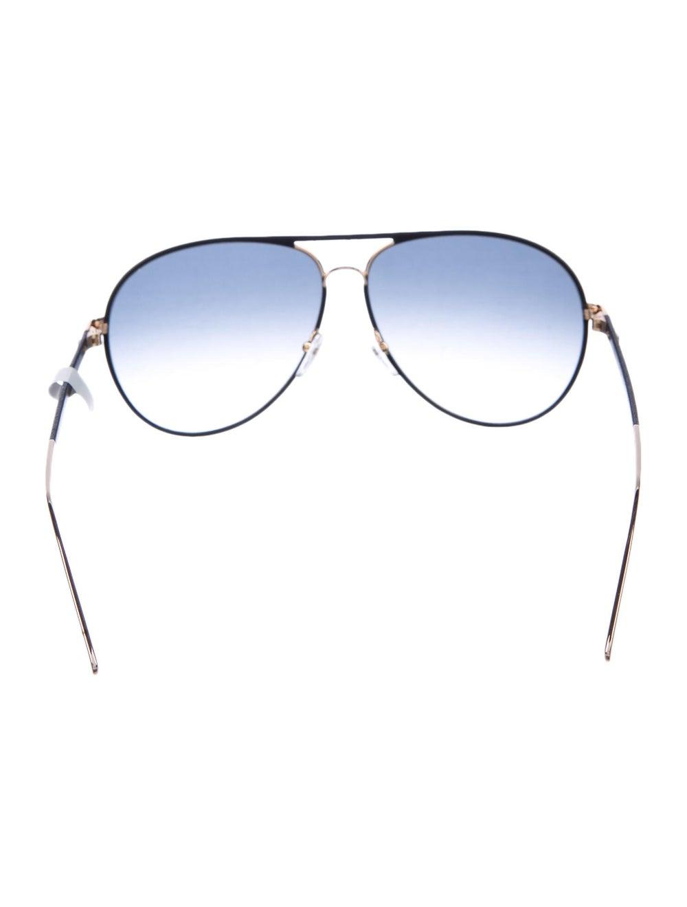 Salvatore Ferragamo Aviator Gradient Sunglasses B… - image 3