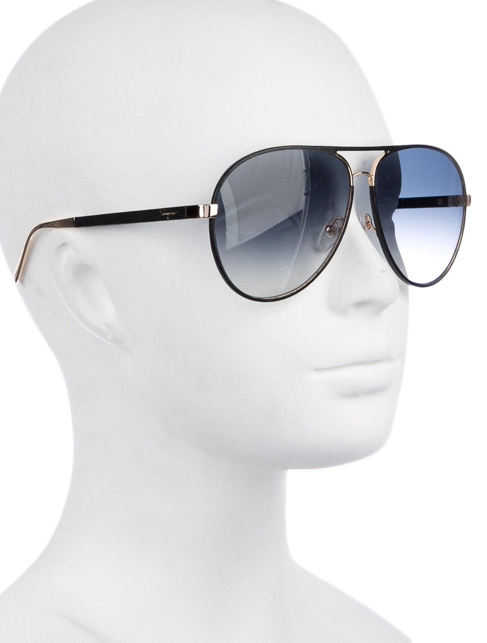 Salvatore Ferragamo Aviator Gradient Sunglasses B… - image 4