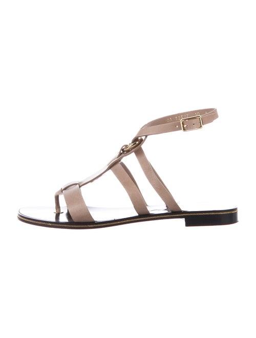 Salvatore Ferragamo Leather Gladiator Sandals